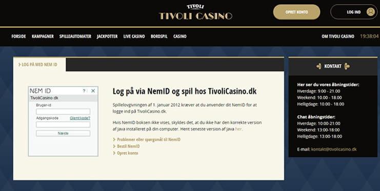 Tivoli Casino Udbetaling